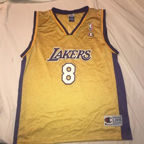 sale retailer 3c146 3d0d8 Vintage Champion Kobe Bryant #8 jersey